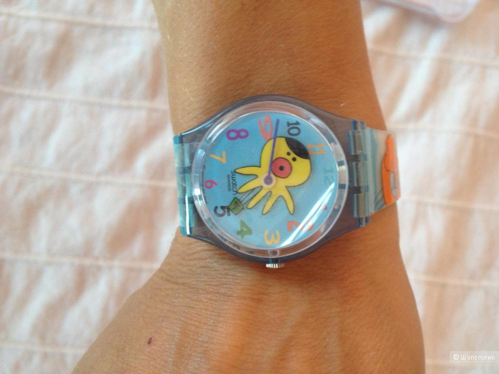 Забавные новые часики Swatch