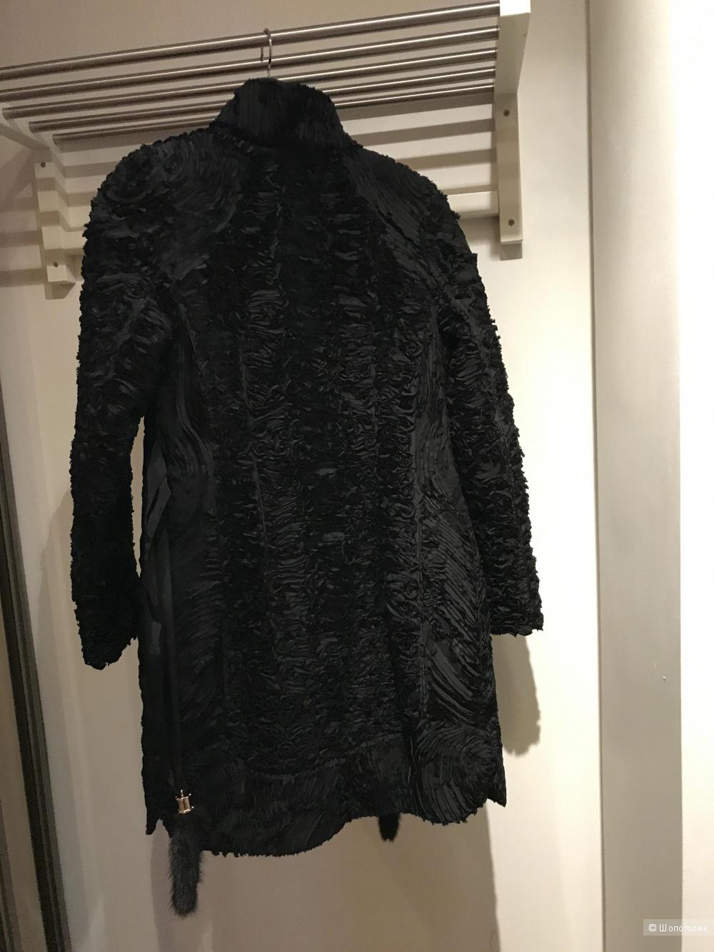 Пальто дизайнерское зима Raslov, 42-44 p