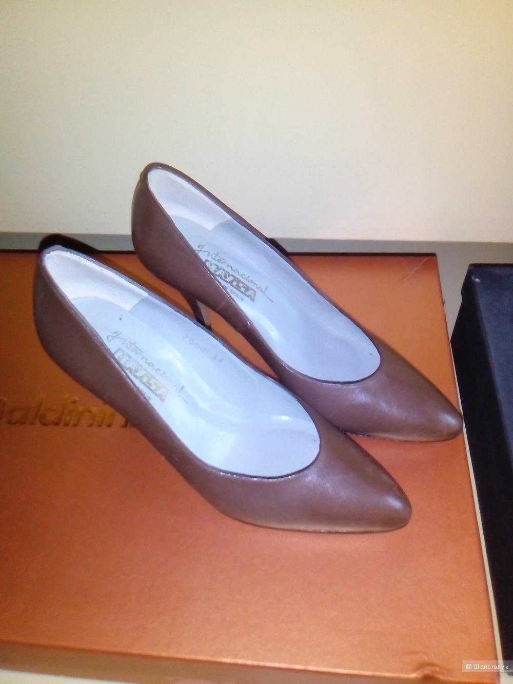 Туфли Mayisa, 38 размер. Коричневые