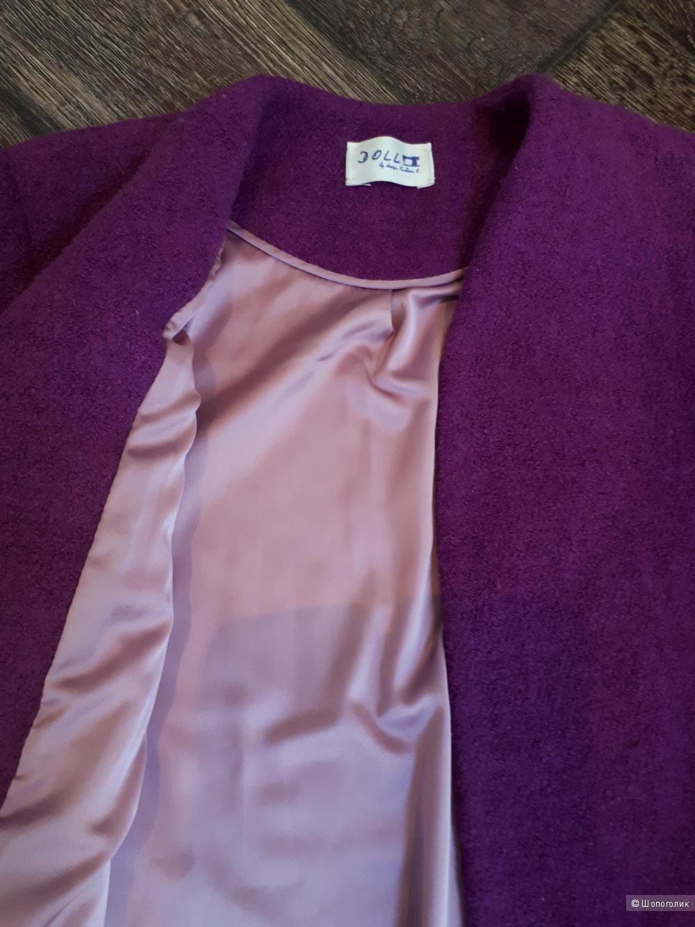 Пальто дизайнерское,42-44 размер,shopuno