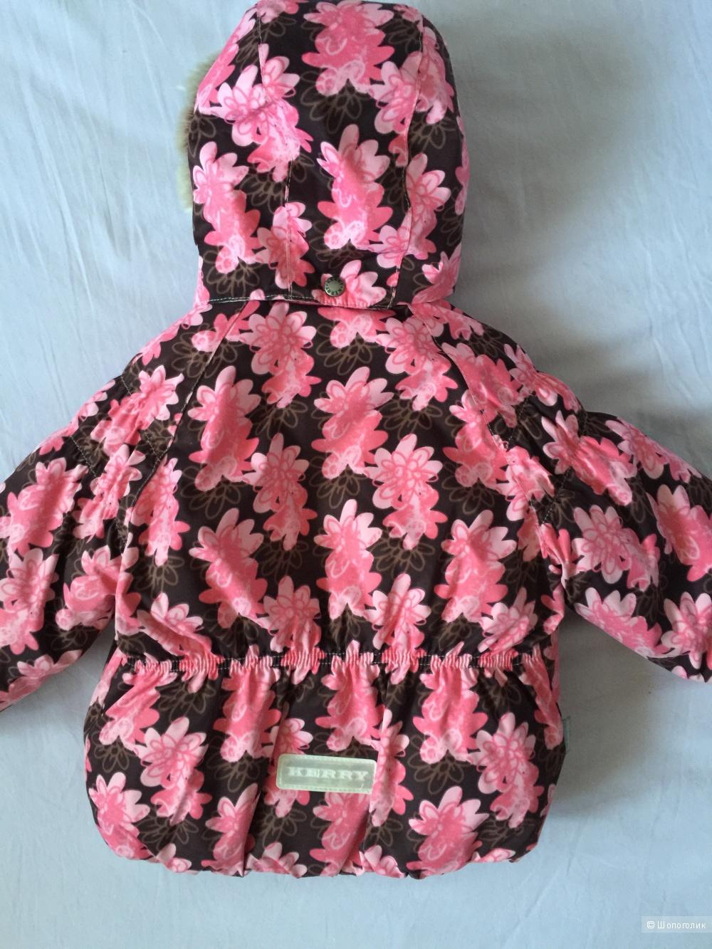 Зимняя куртка Kerry для девочки размер 86