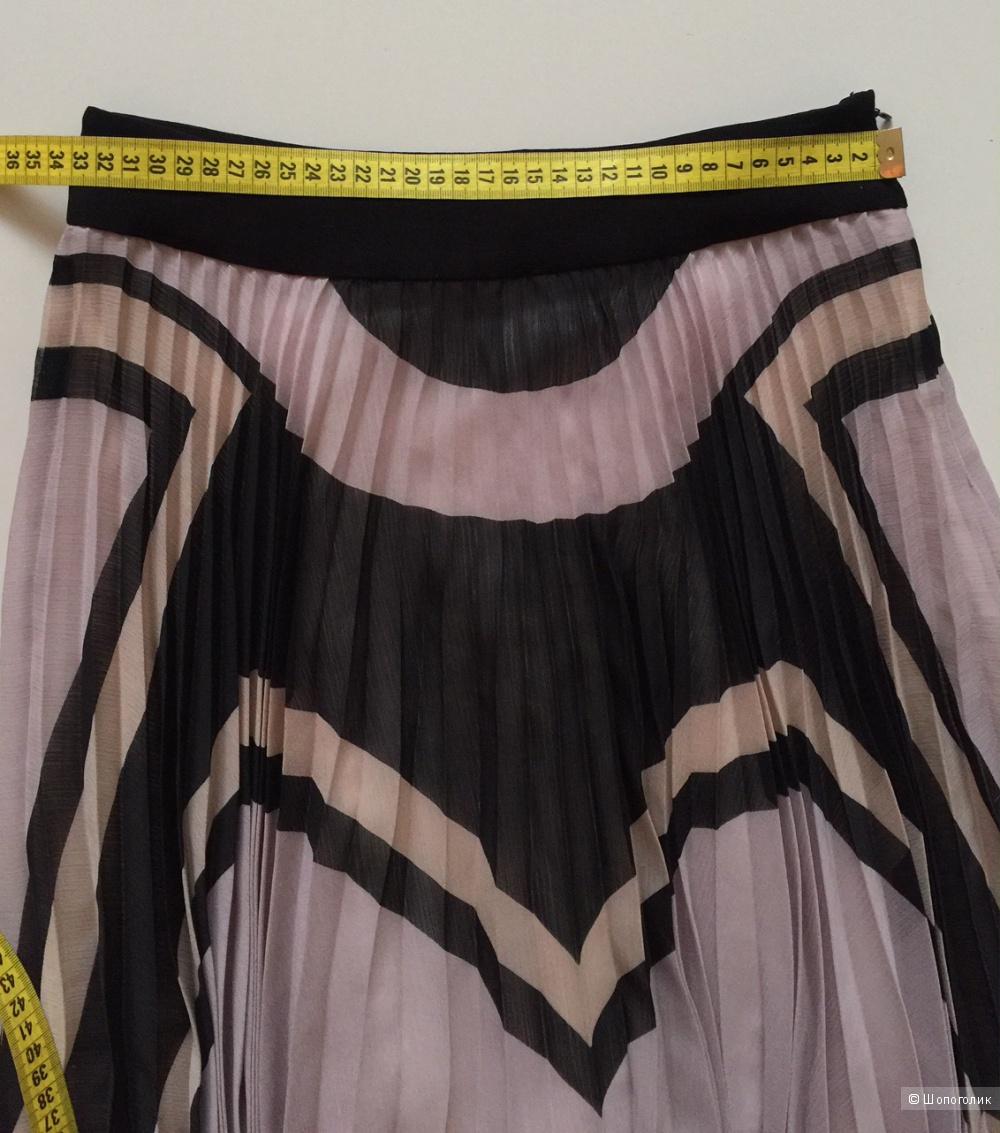 Шикарная юбка плиссе марки Karen Millen размер S
