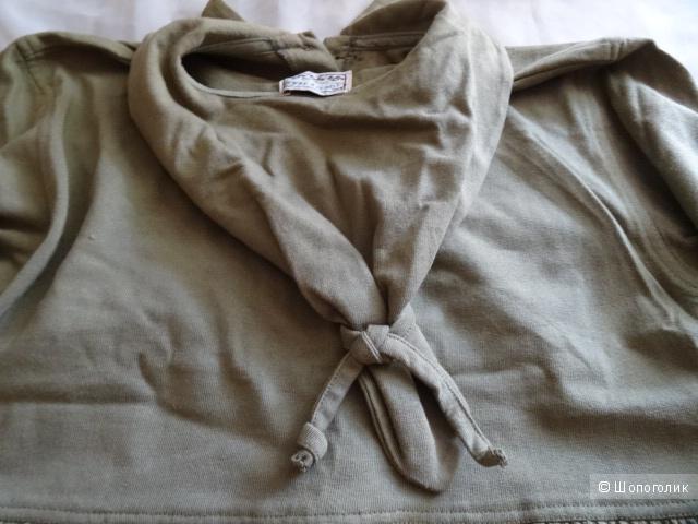 """Платье-рубашка """"TURTLE TEAM """", размер 44-46, б/у"""