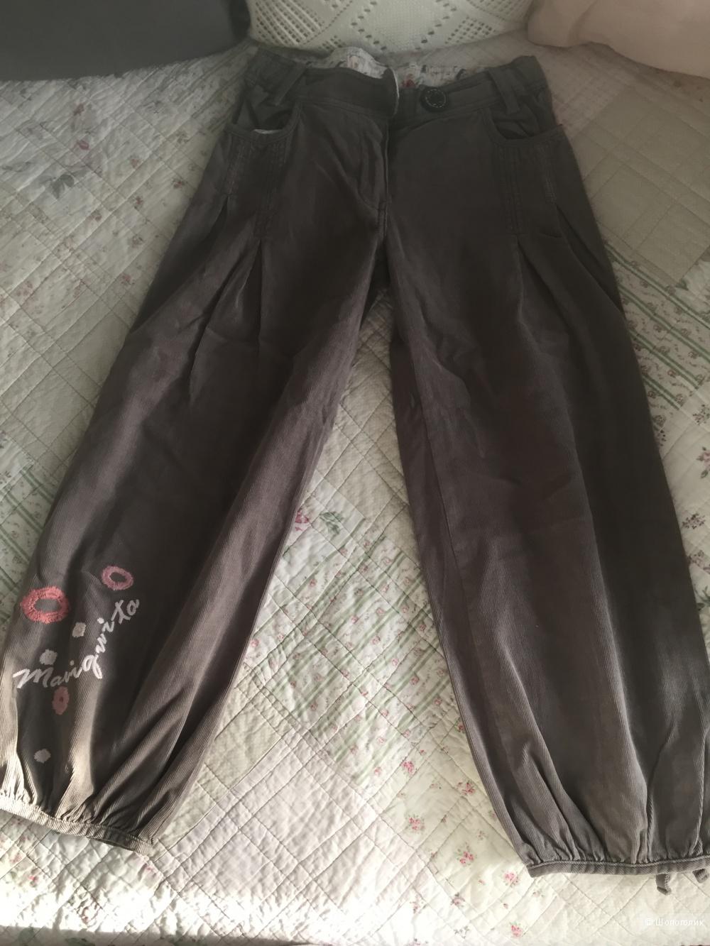 Вельветовые брюки ф.Mariquita 122 разм