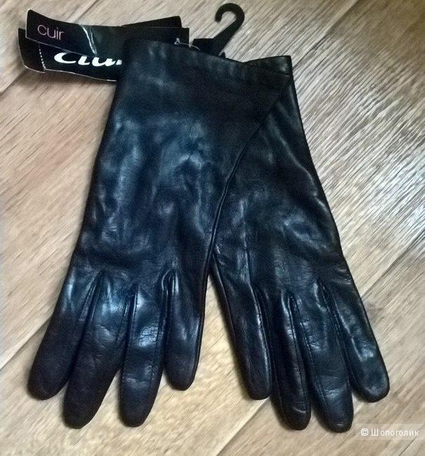 Перчатки кожа ETAM S/М (7,7+)