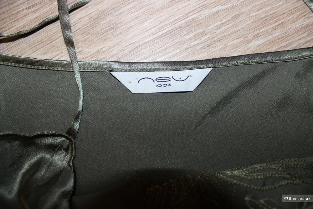 Красивый топ в бельевом стиле NEW LOOK, размер 48