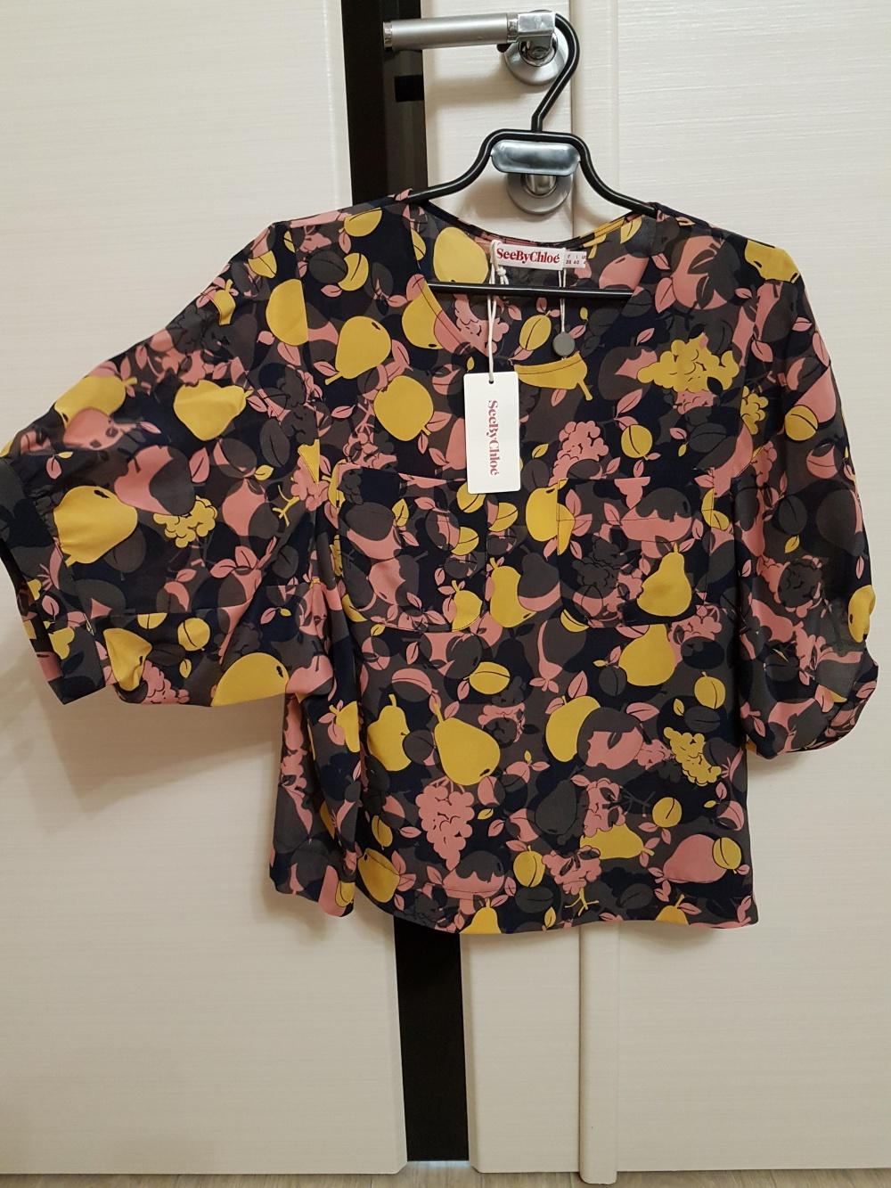 Шелковая блузка See by Chloe, размер S-M