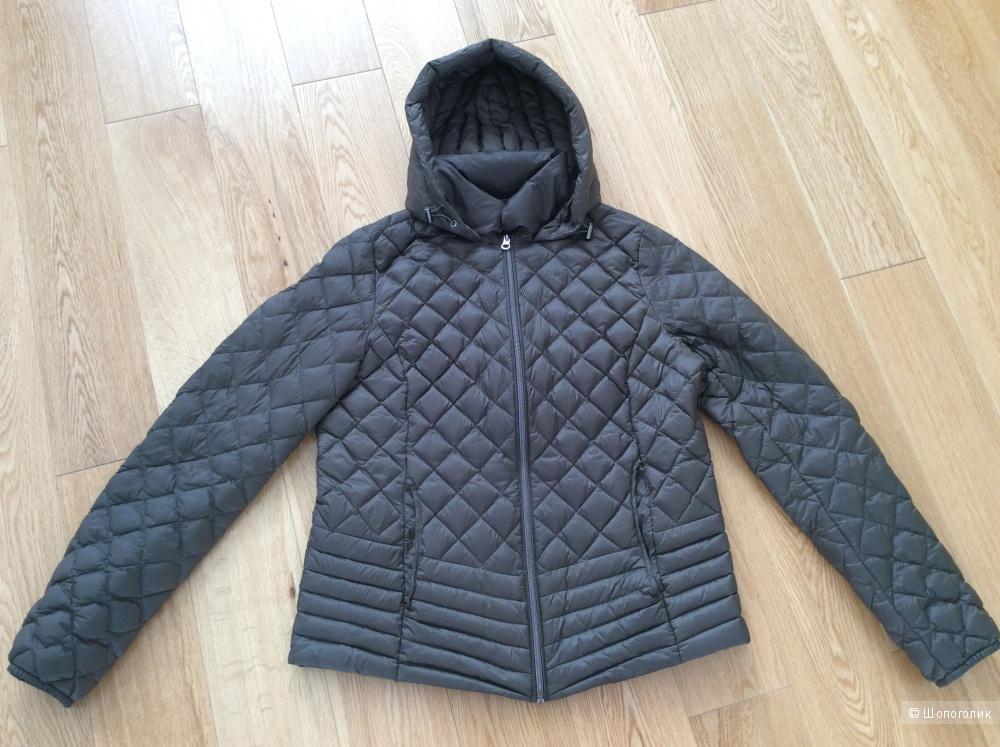 Лёгкая пуховая куртка с капюшоном The Outerwear р.40EU (46-48)