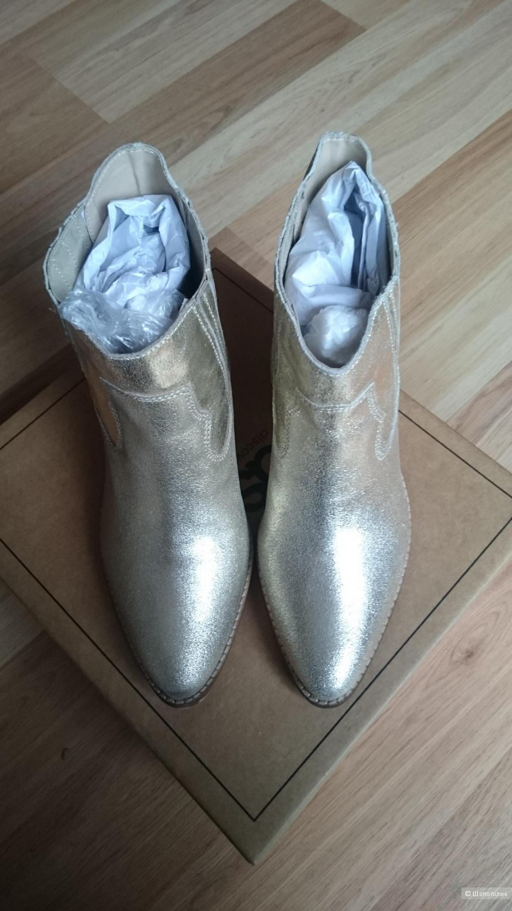 Кожаные ботинки АSOS. р.38