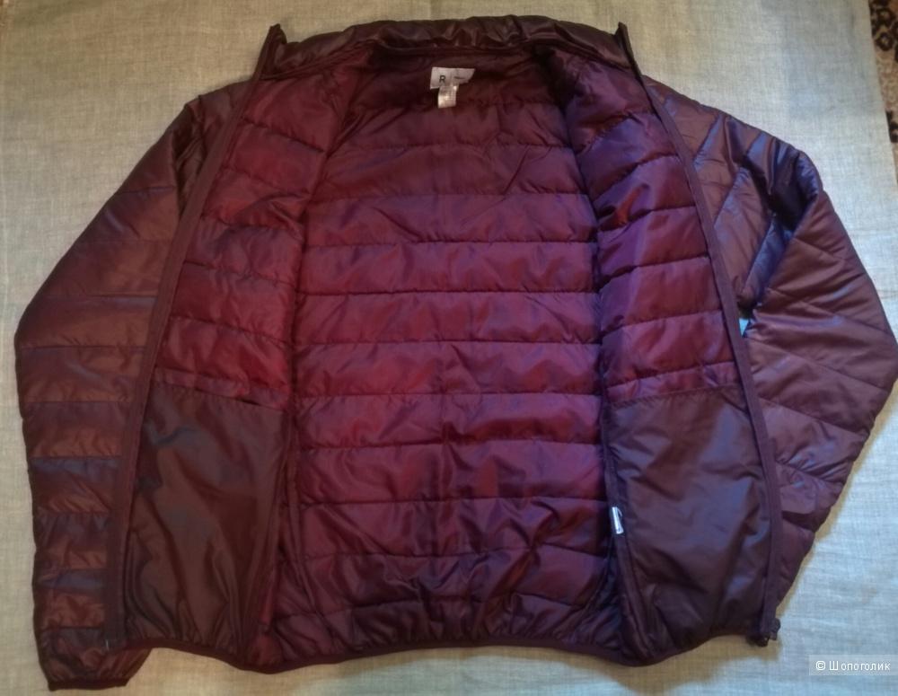 Стеганая демисезонная куртка для парня р.42-46