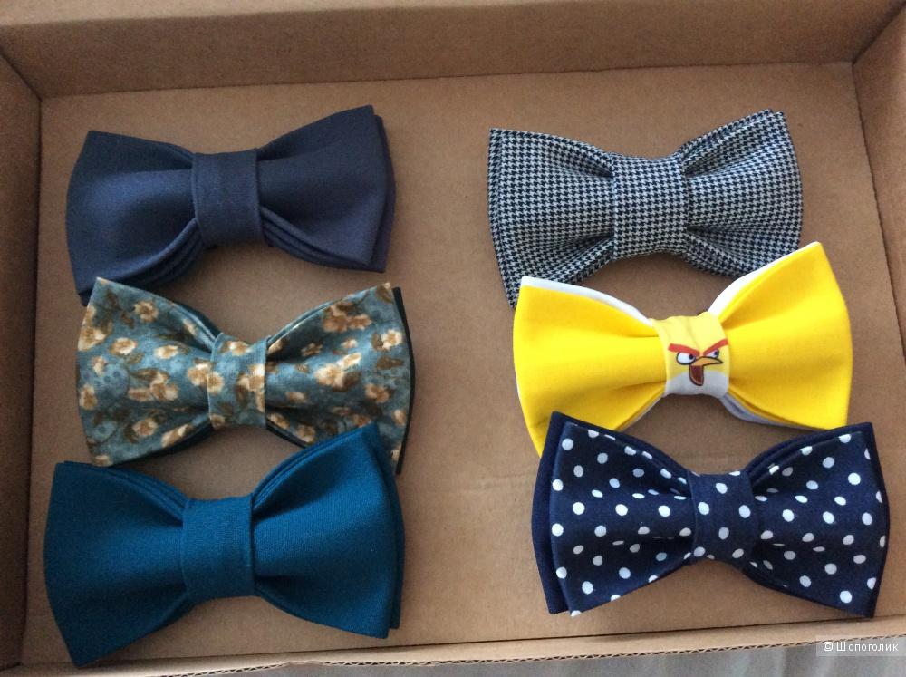 Набор из 6 галстуков-бабочек Chinaski