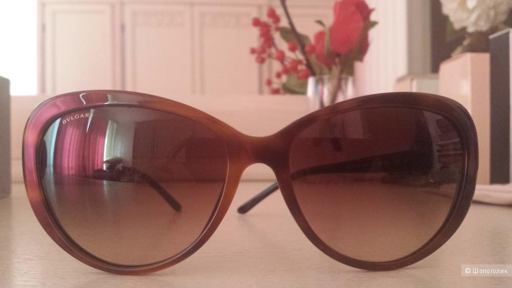 """Солнцезащитные очки BVLGARI  """"кошачий глаз"""""""