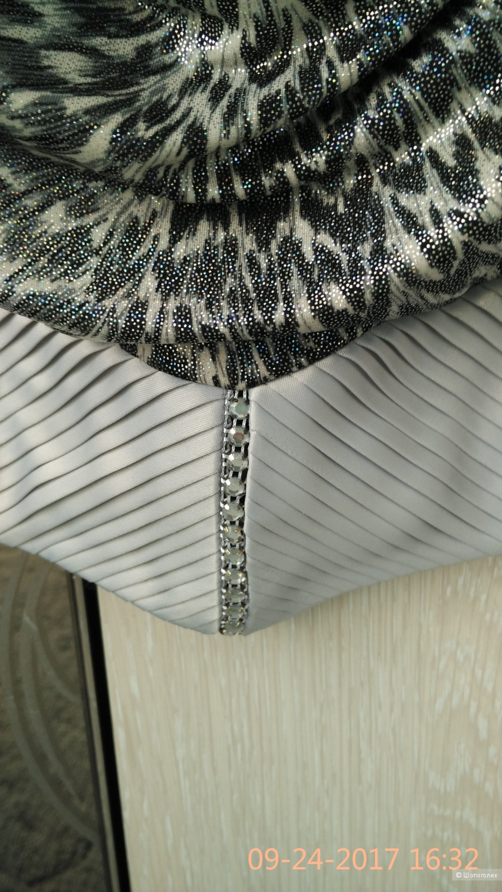 Блузка LaVertue, с хомутом,  размер 44 , Турция