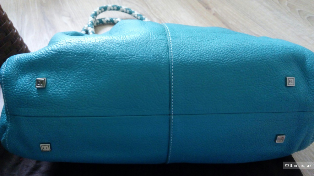 Кожаная сумка Elliott Lucca