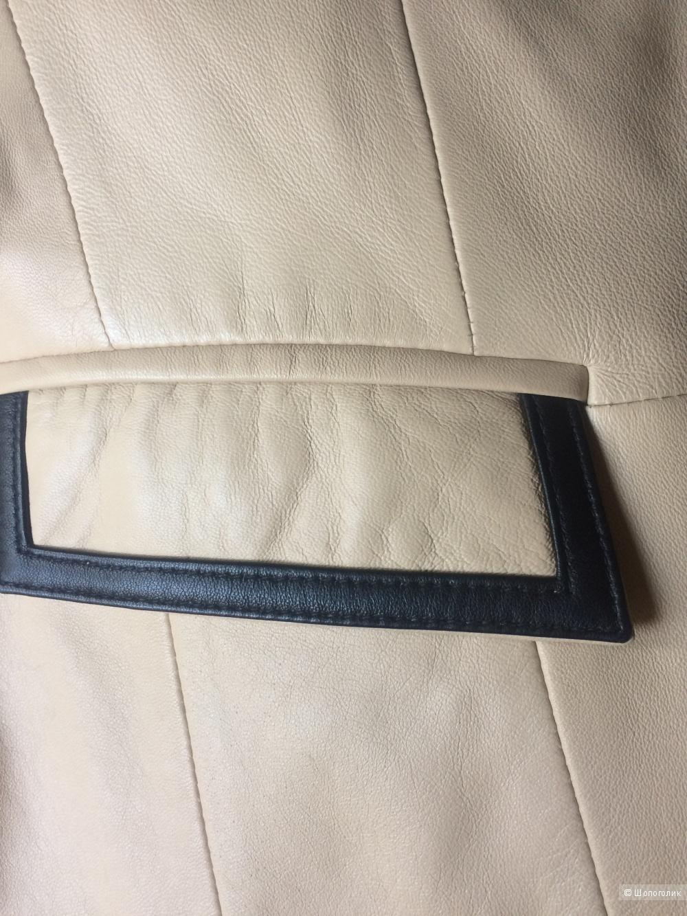 Куртка кожаная Elegance (48 RUS)