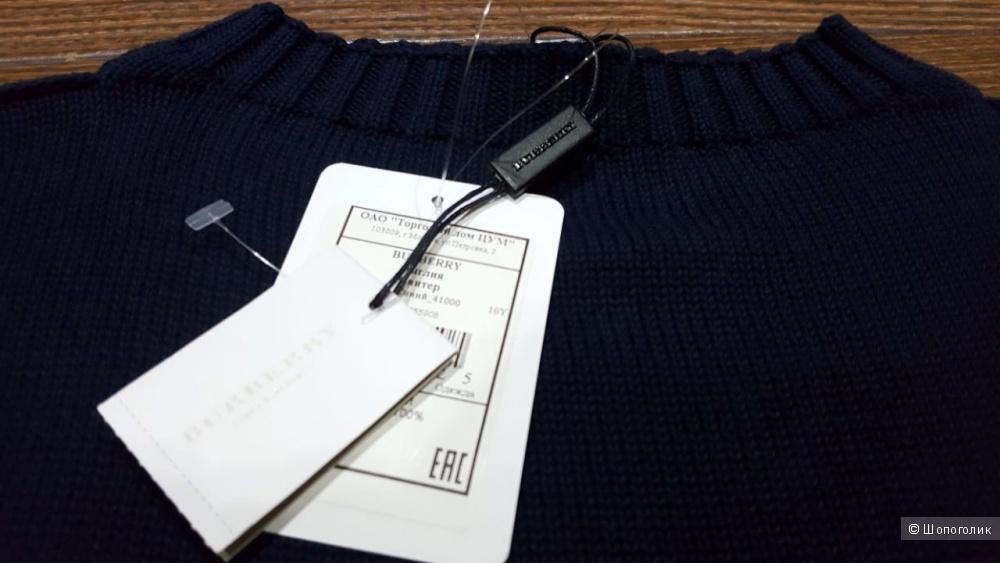 Burberry красивый свитер . Новый.Оригинал.р-ХS