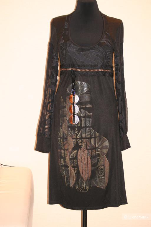Платье трикотажное LEGATTE Италия Новый р.46-48
