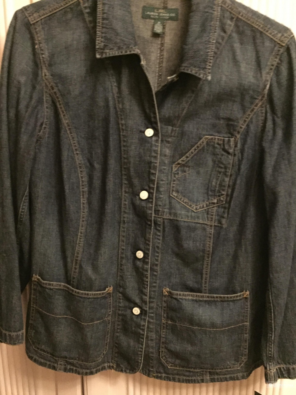 Джинсовый жакет RALPH LAUREN  Denim Workwear Jacket Size:	2 X