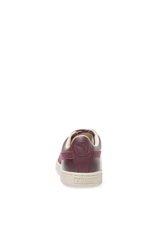 Кожаные кеды  Puma Basket Classic Citi. Размер 39EUR/6UK/7US. По стельке 25,5-25,7 см. Бордо