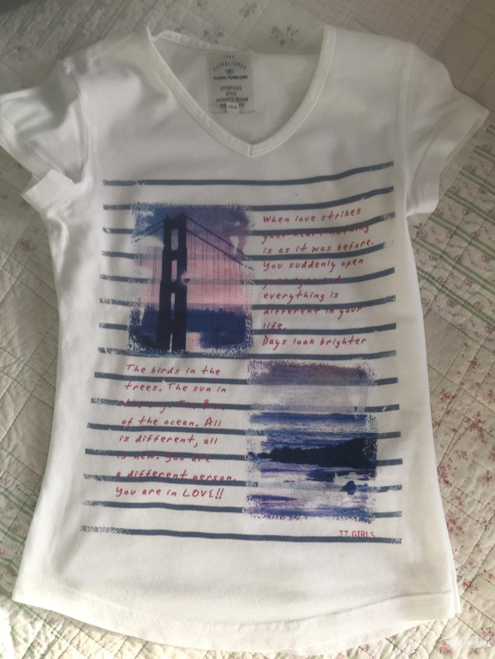 Сет футболок для девочки 140-146 разм