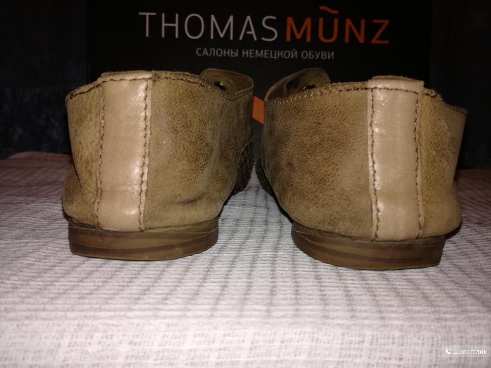 Thomas Munz п/ботинки кожаные 36-37 размер