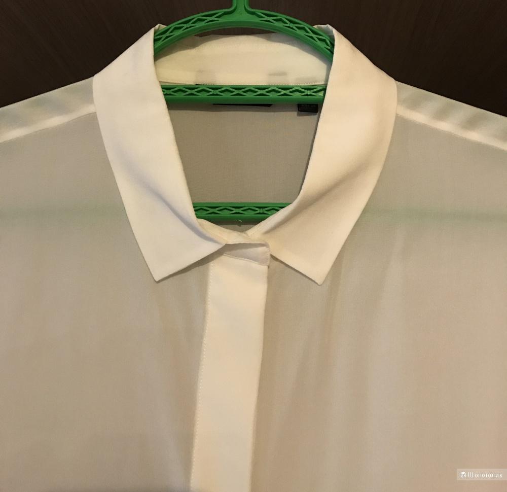 Идеальная  шелковая блузка  Massimo Dutti , 38 размер