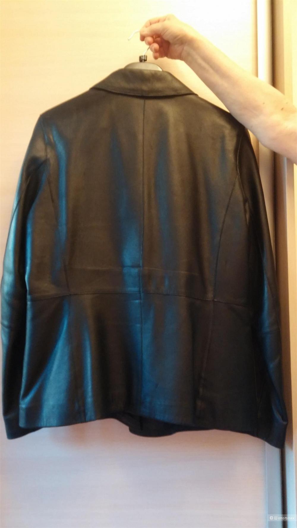 Кожаная куртка amaranta 46-48