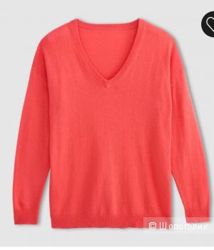 Новый пуловер из хлопка и кашемира р.42-44-46