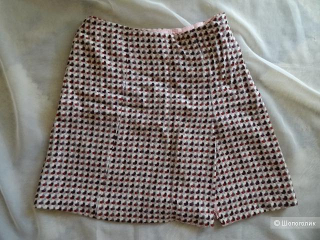 """Шерстяная юбка """"HOBBS"""", размер 42-44, б/у"""