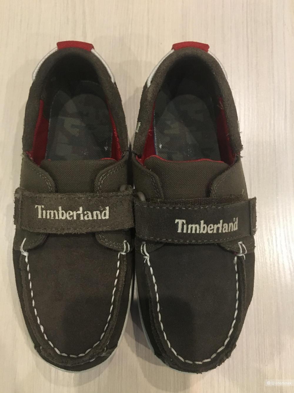 Замшевые мокасины Timberland,размер33