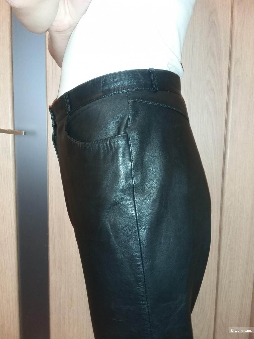 Кожаные брюки Gerry Weber, размер EB 44, RUS 46