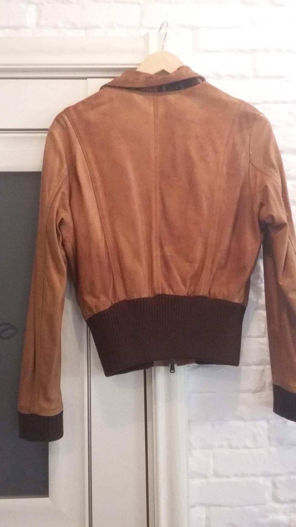 Куртка кожаная TORRAS  42-44 размера