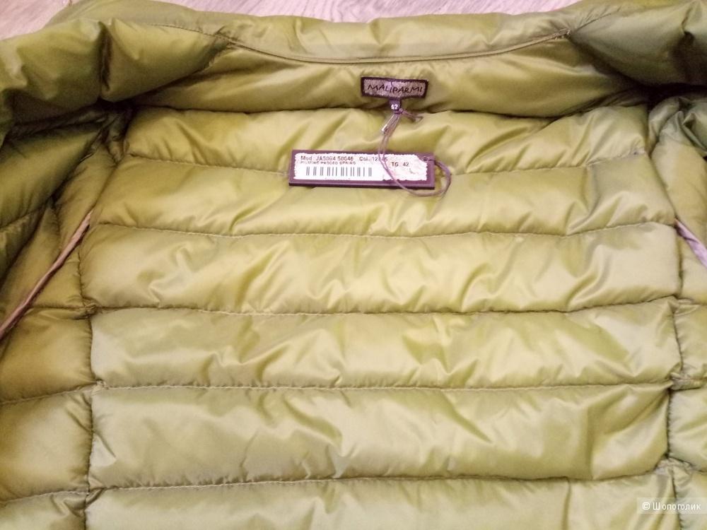 Куртка на гусином пуху MALÌPARMI, размер 42 IT (42/44 RU)