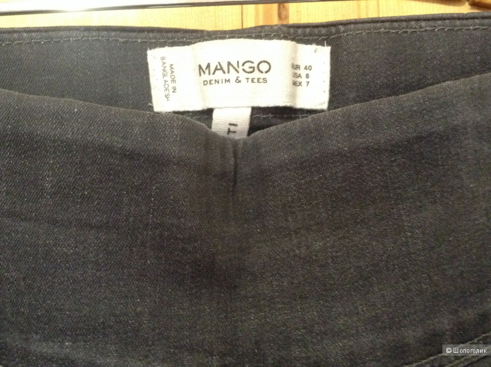 Джинсы леггинсы от Mango в размере 46 рус.