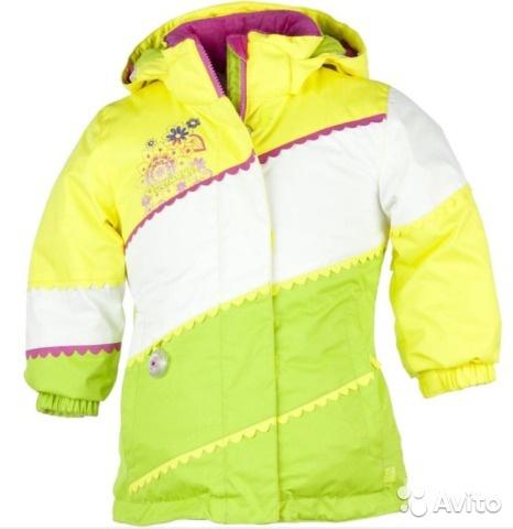 Новая куртка для девочки Obermeyer на 2 года