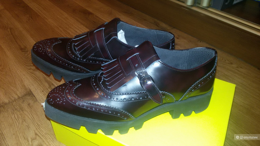 Кожаные ботинки Wil Dempster London р. 39