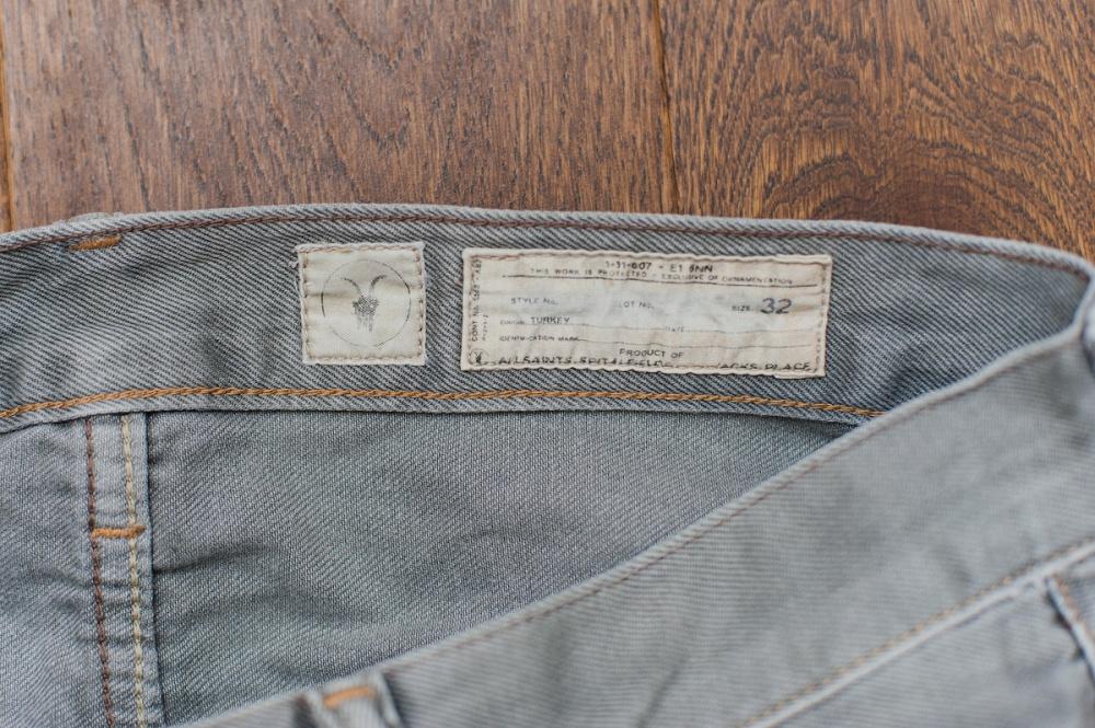 Мужские джинсы Allsaints р. 32