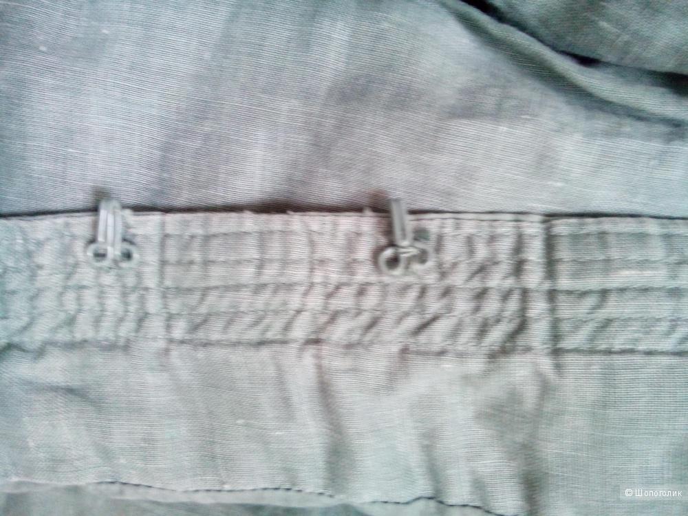 Жакет-пиджак мятного цвета 100 проц лен в размере 38 евро 10UK
