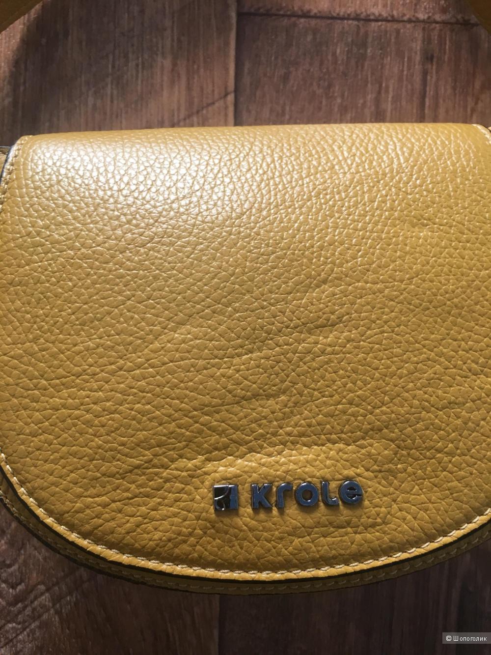 Новая кожаная сумочка кросс-боди Krole