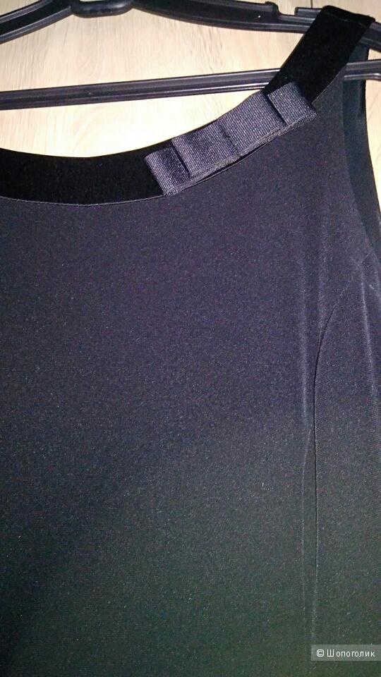 Черное платье Your FACE 44-46 разм