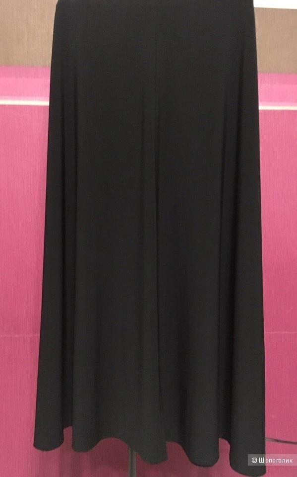 Черная юбка миди размер 50