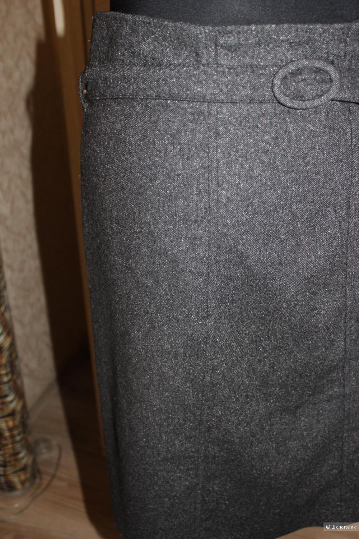 Теплая юбочка-карандаш BENETTON, размер 44-46