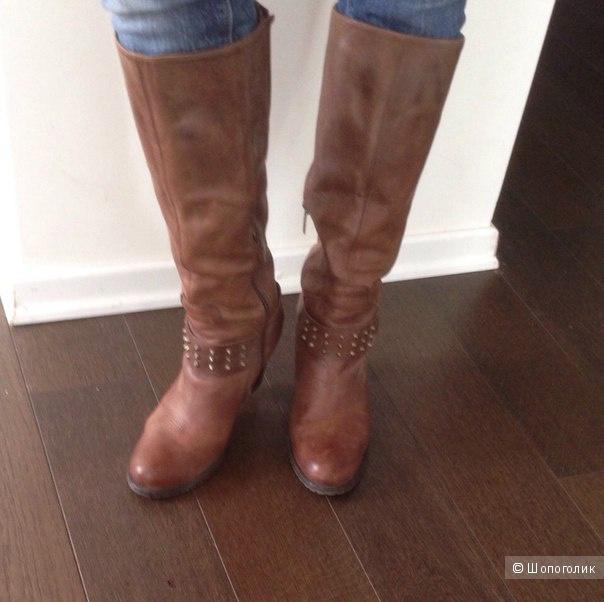 Сапоги кожаные Hush Pappies 40 размера