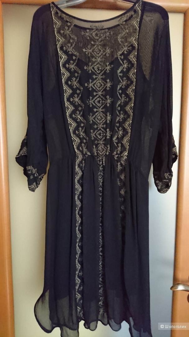 Платье французкой марки - Mes Demoiselles Paris, размер 38 FR,  на наш 44. пр-во Индия