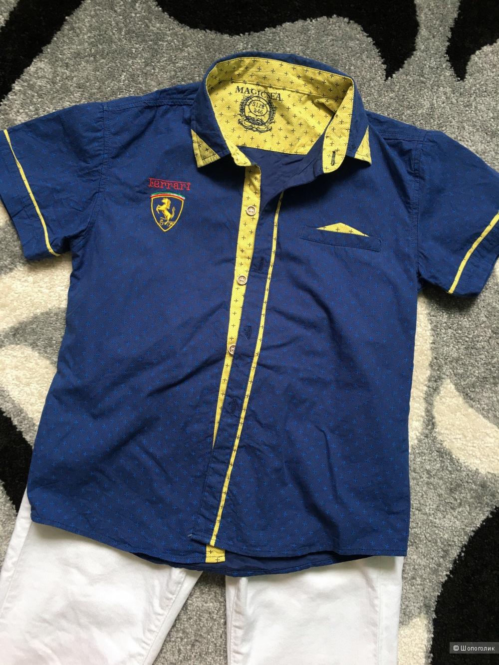 Рубашка Ferrari рост 146