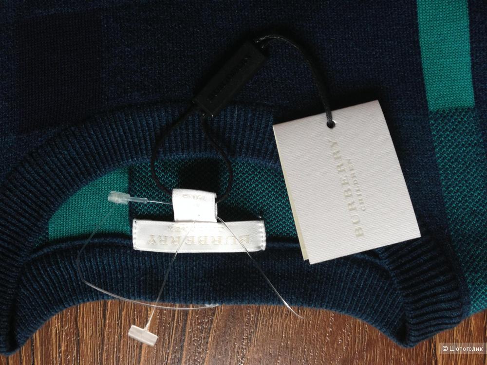 Burberry шикарный женский свитер.Новый.Оригинал.р 42 (xs)