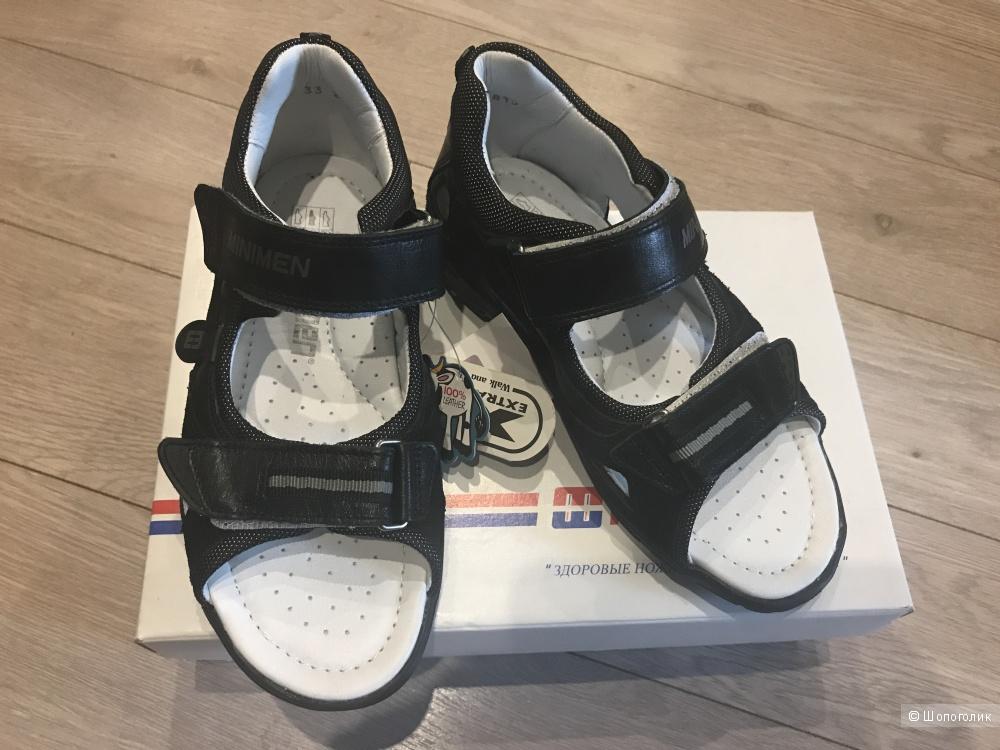Minimen новые сандалили для мальчика 33