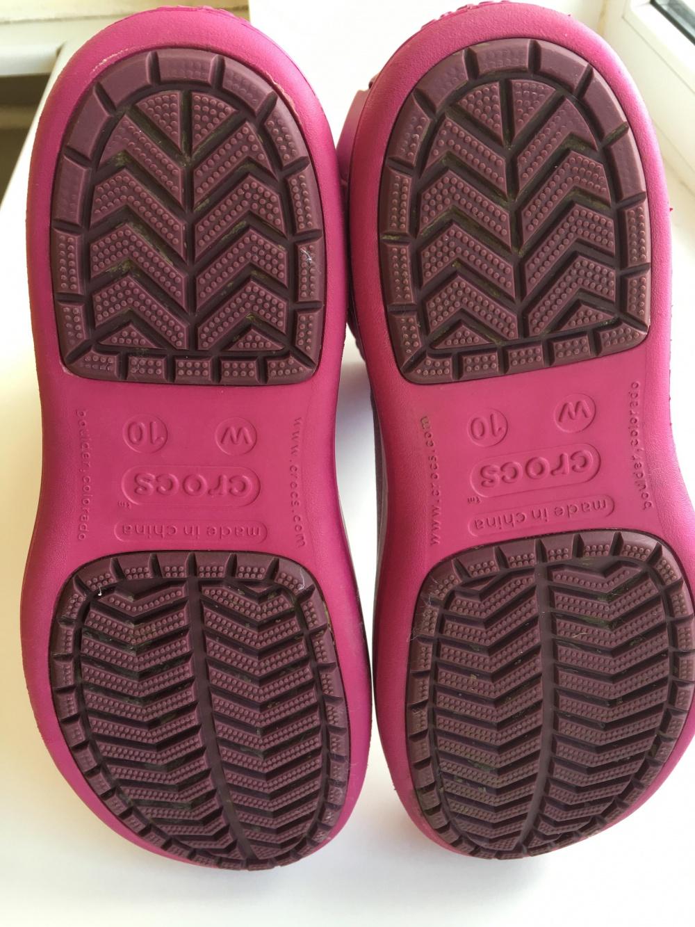 Сапоги Crocs, размер US10