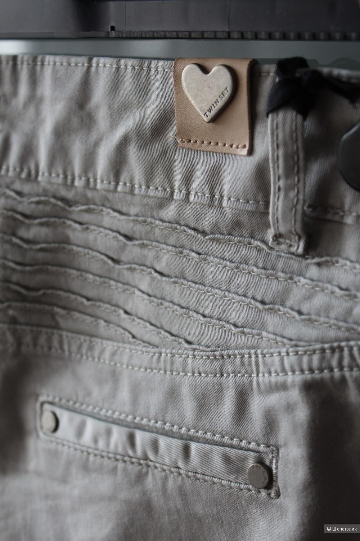 Новые джинсовые брюки Twin Set Simona Barbieri,размер 26