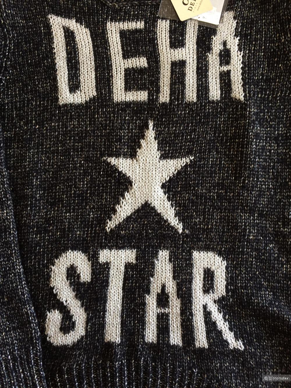 Новый красивый свитер deha размер s,большемерит
